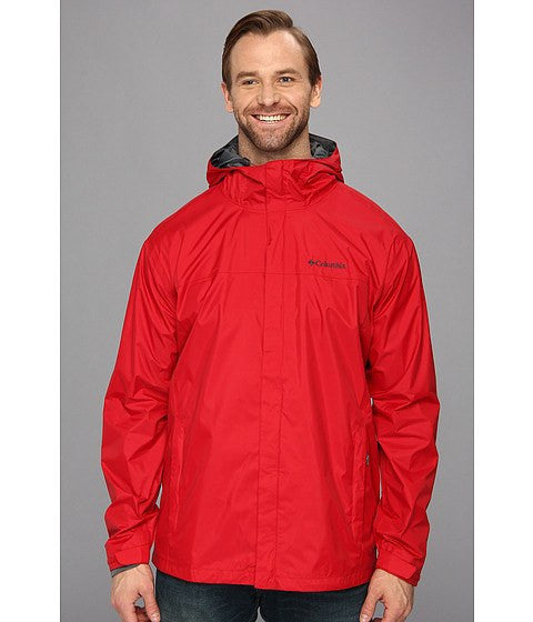 Columbia Men's Watertight II Rain Jacket Red