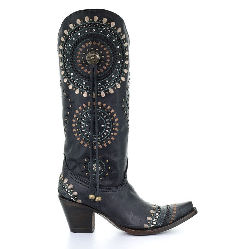 Corral Women's Gricelda Boot in Black A3525