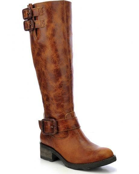 Corral Women's Cognac Engineer Tall Top Boot P5118 - Saratoga Saddlery & International Boutiques