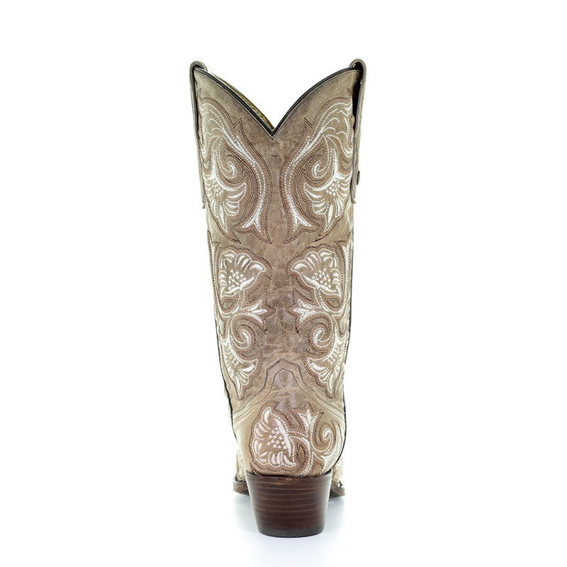 Corral Wedding Collection Women's Macarena Boot - G1086 - Saratoga Saddlery & International Boutiques