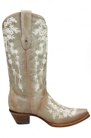 Lucchese Women's Amberle Boot N4604 - Tan