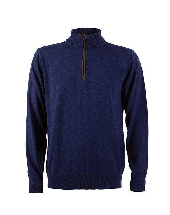 Dale of Norway Men's Olav Sweater Navy - Saratoga Saddlery