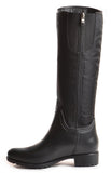Dav Fairfield Bit Rain Boot in Black Flint