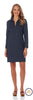 Jude Connally Deidre Stretch Denim Dress in Navy