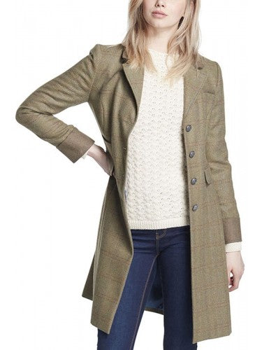 Dubarry Blackthorn Tweed Jacket in Connacht Acorn