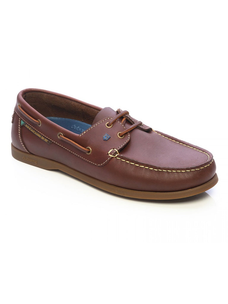Dubarry Windward Men's Deck Shoe in Chestnut - Saratoga Saddlery & International Boutiques