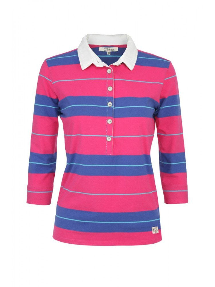 Dubarry Women's Shannon Rugby Shirt in Orchid
