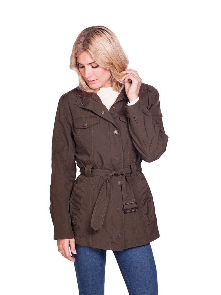 Dubarry Women's Swift Waterproof Jacket in Olive