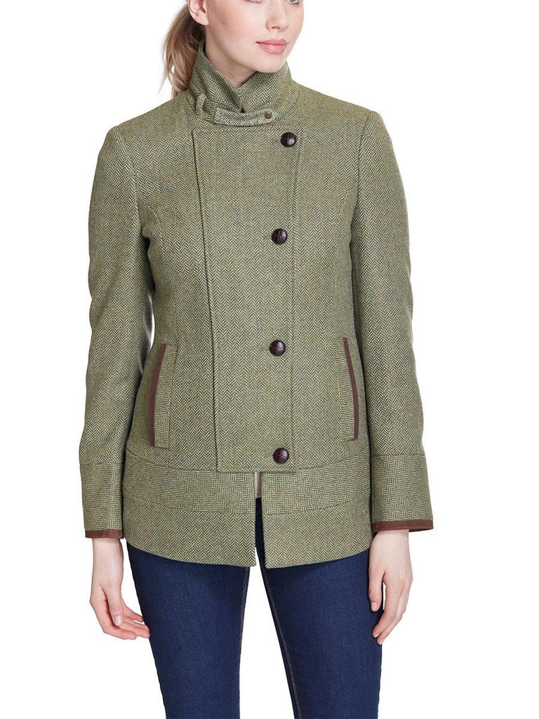 Dubarry Women's Willow Tweed Jacket in Laurel