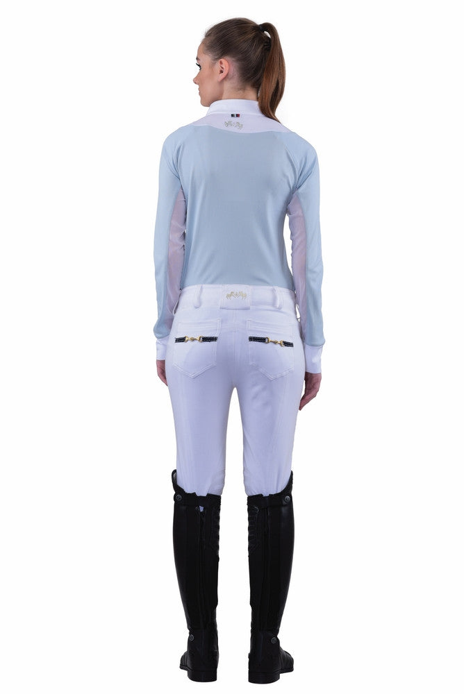 Equine Couture womens Sophie Knee Patch Breeches