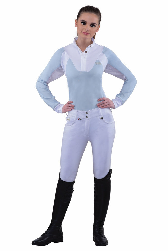 Equine Couture Ladies Sophie Knee Patch Breeches