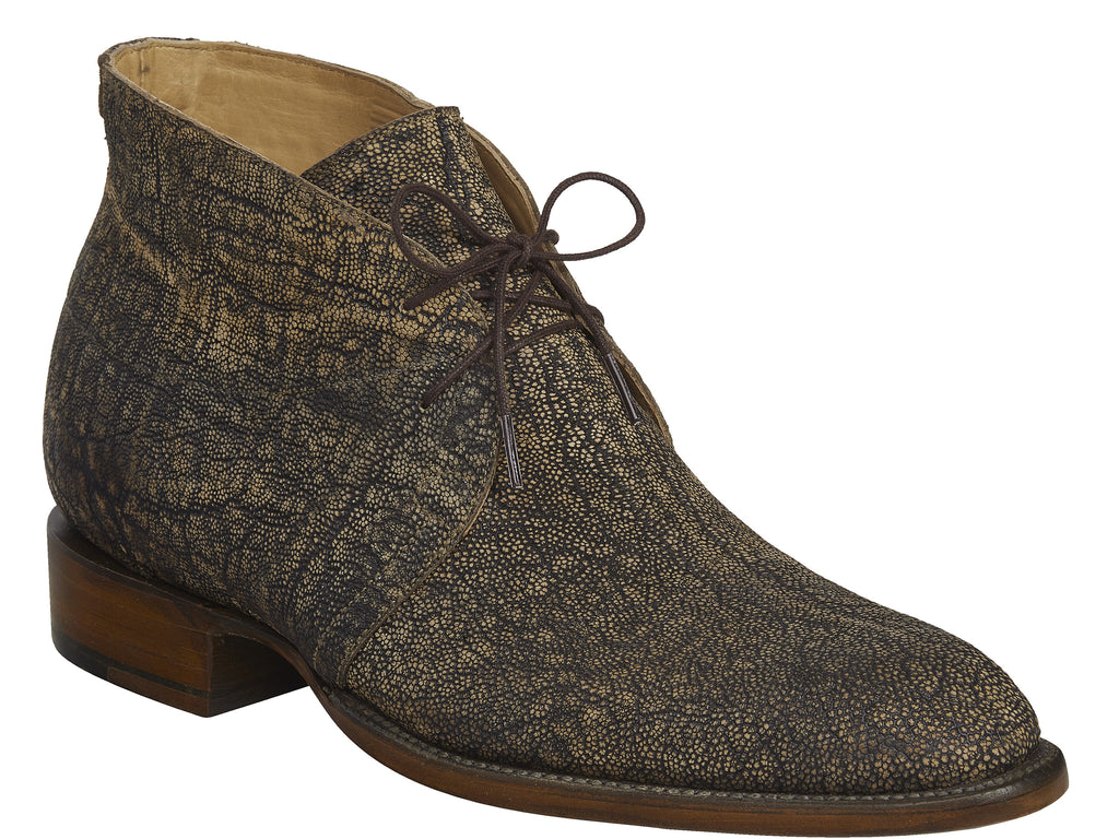 Lucchese Men's Evan Chukka Boot - Anthracite Grey Elephant (GY8010)