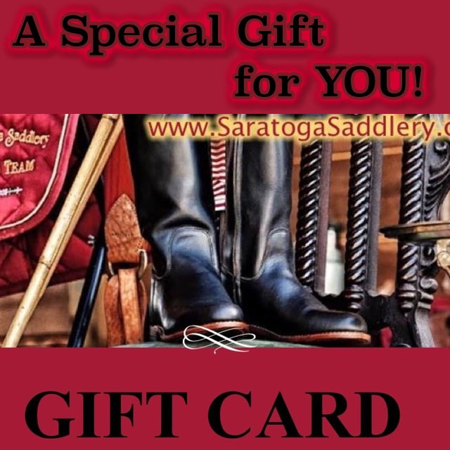 Saratoga Saddlery Gift Card