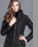 Women's Down Winter Coat in Black