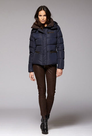Gimo 3D550 Women's Wool and Cashmere Jacket in Navy - ON SALE!