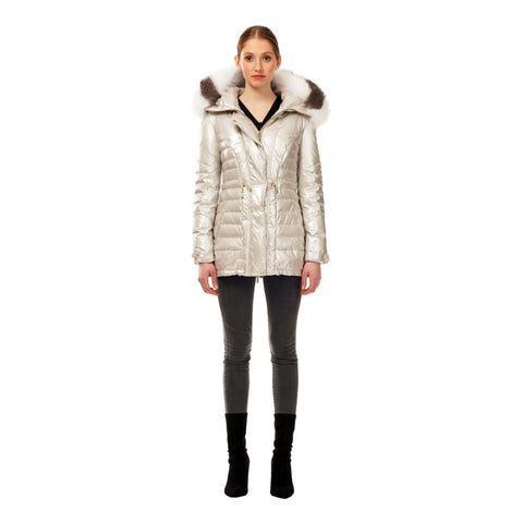 M. Miller Catelyn Alpine Heritage Down Quilted Jacket