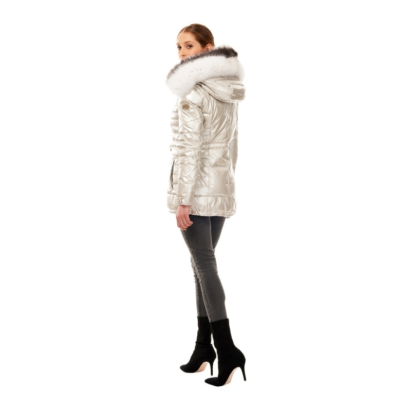 Gorski Après-Ski Jacket w/Fox Trim Hood On Sale! - Saratoga Saddlery & International Boutiques