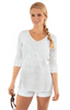 Gretchen Scott Copacabana Tunic in White - Saratoga Saddlery & International Boutiques