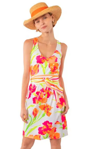 Jude Connally Lisa Dress in Mod Floral