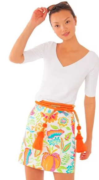 Gretchen Scott Skippy Skort in Hummingbird Heaven Multi - Saratoga Saddlery & International Boutiques