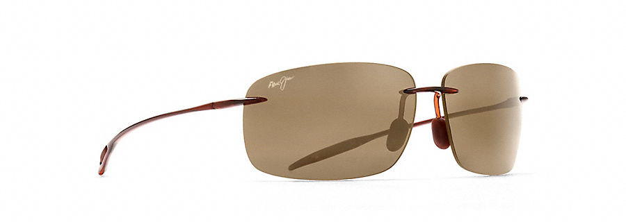 Maui Jim Breakwall Sunglasses in Rootbeer with HCL Bronze Lense