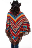 Scully HC518 Serape Poncho (back)