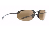 Maui Jim Men's Hookipa Sunglasses in Gloss Black HCLMaui Jim Ho'okipa Sunglasses in Gloss Black with HCL Bronze Lens