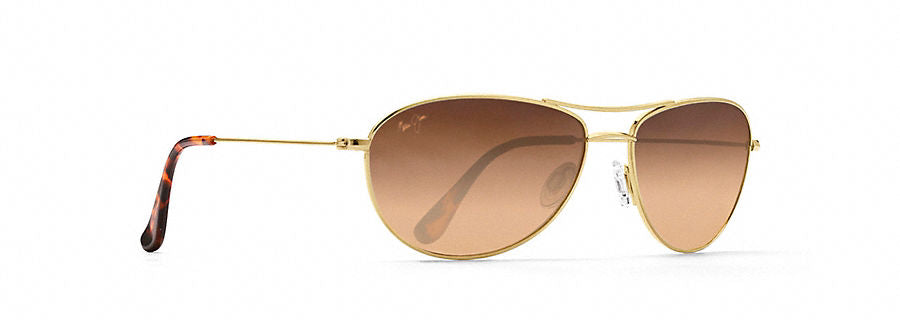 Maui Jim Baby Beach Sunglasses in Gold with HCL Bronze Lens