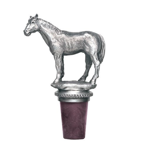 Heritage Bottle Stopper Racehorse BS8593 - Saratoga Saddlery & International Boutiques