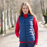 B Vertigo Carrie Women's Down Vest at  Saratoga Saddlery Upstate NY Fall Collection 19