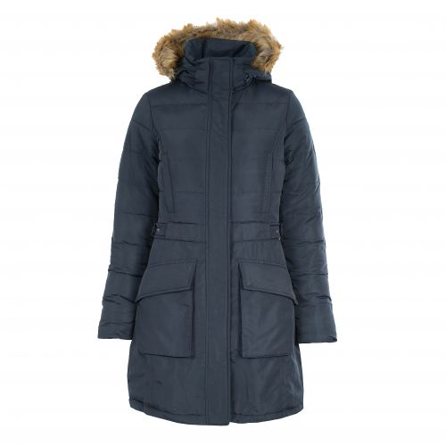 Horze Clarissa Women's Long Coat in Navy