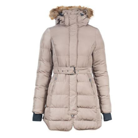 Horze Crescendo Women's Alexandra Long Coat in Taupe - ON SALE!