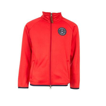 HORZE KIDS KENDALL FLEECE JACKET IN RED