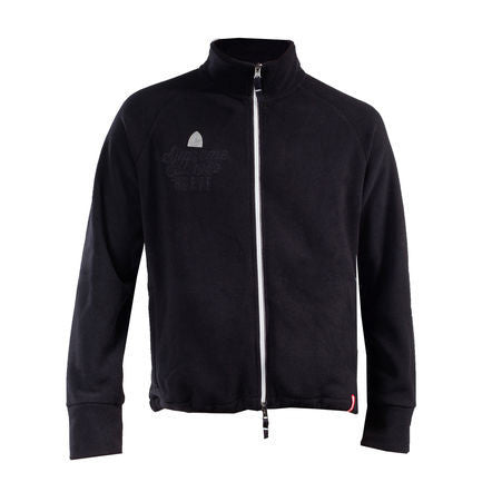 Horze Supreme Langston Unisex Fleece Jacket Black