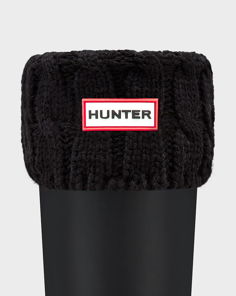Hunter Original Short Six-Stitch Cable Boot Socks - Saratoga Saddlery & International Boutiques