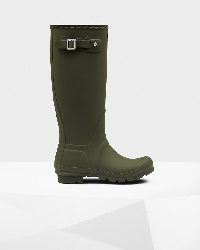 Hunter Original Tall Matte Rain Boots - Saratoga Saddlery & International Boutiques