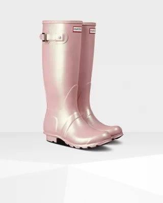 Hunter Womens Original Tall Nebula Bella Rain Boot - Saratoga Saddlery & International Boutiques