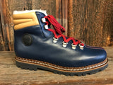 Ammann Town III Hiker Boot in Navy Leather