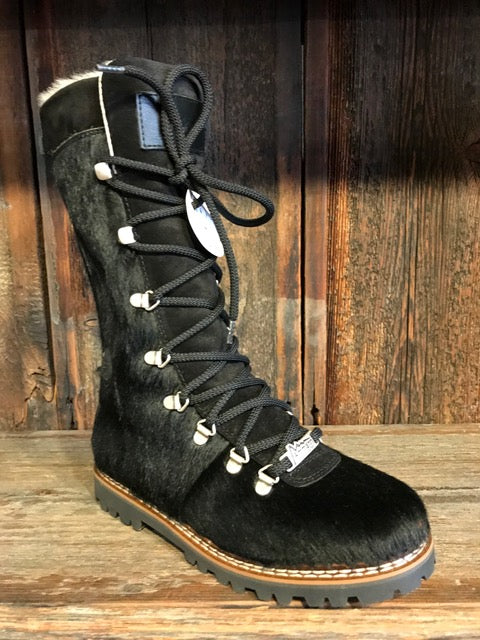 Ammann Malix Boot in Black Calf Hair