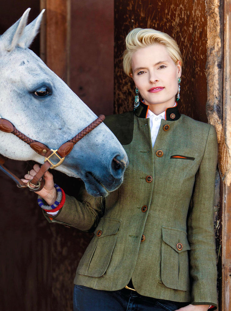 Von Dornberg Women's Diana Equestrian Elegant Jacket - Saratoga Saddlery & International Boutiques