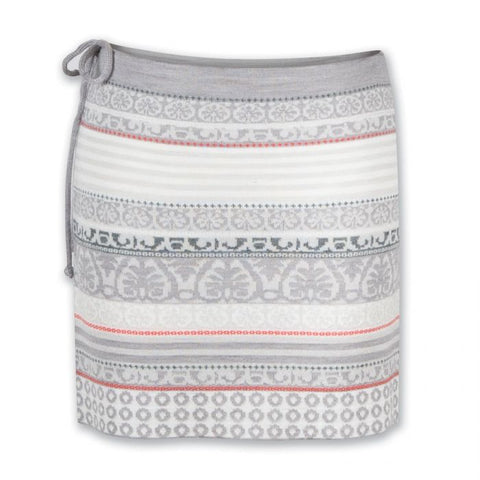 Jude Connally Morgan Skort in Geo Maze Peach - FINAL SALE
