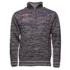 Icewear Thor Half Zip Men's Sweater in Dark Grey