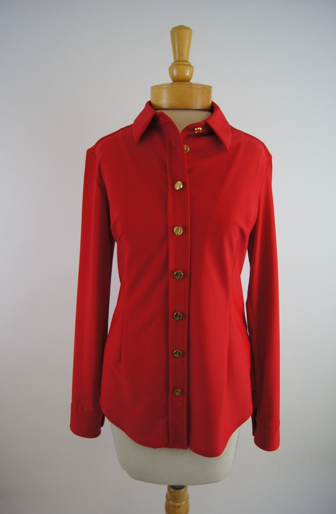 Jude Connally Amanda Top in Crimson