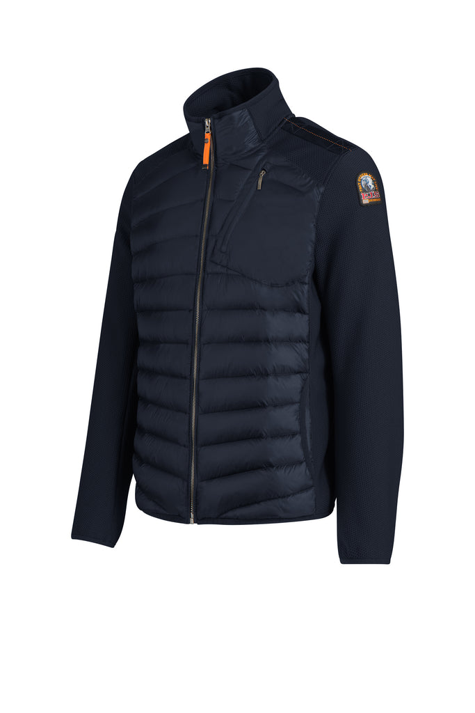 Light weight navy down filled mens jacket