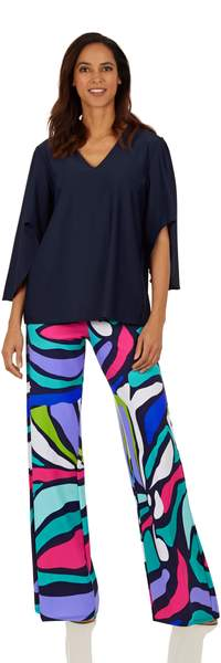 Jude Connally Womens Trixie Pants Oh Abstract - Saratoga Saddlery & International Boutiques