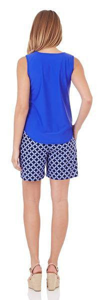 Jude Connally ALI Keyhole Top Cobalt