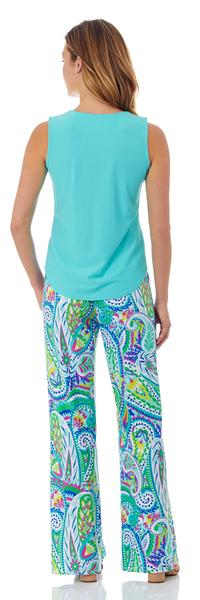 Jude Connally Ali Top in Light Aqua - FINAL SALE