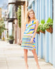 Jude Connally Beth Shift Dress in Nouveau Abstract Multi - FINAL SALE
