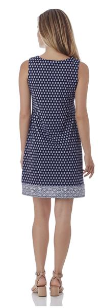 Jude Connally Carissa Shift Dress in Floral Foulard Navy - FINAL SALE
