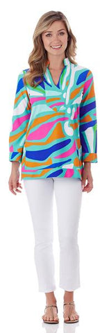 Jude Connally Saylor Top in Navy SALE!
